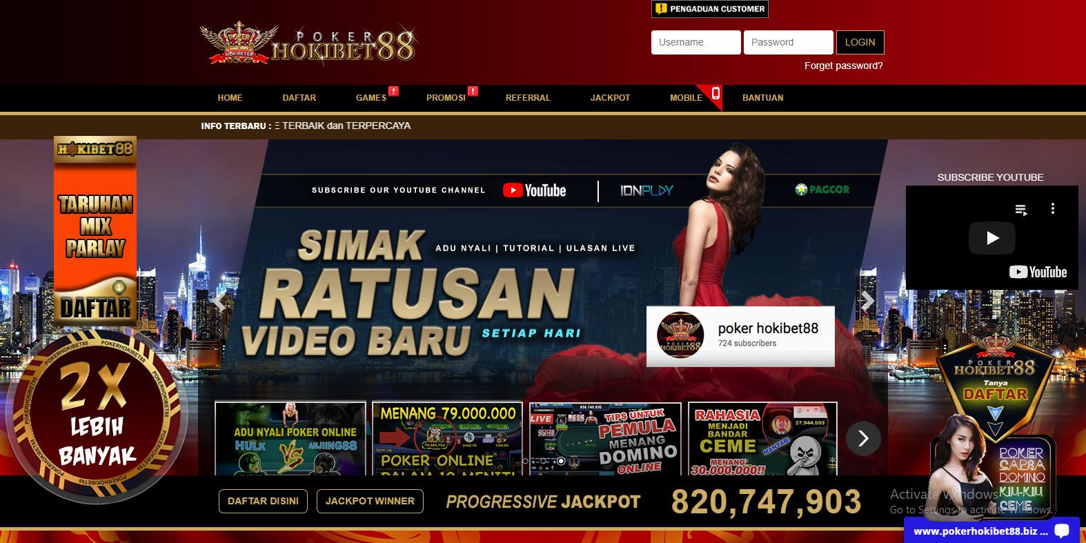 Pokerhokibet88 Link Alternatif Resmi Akun Id Pro Poker Online